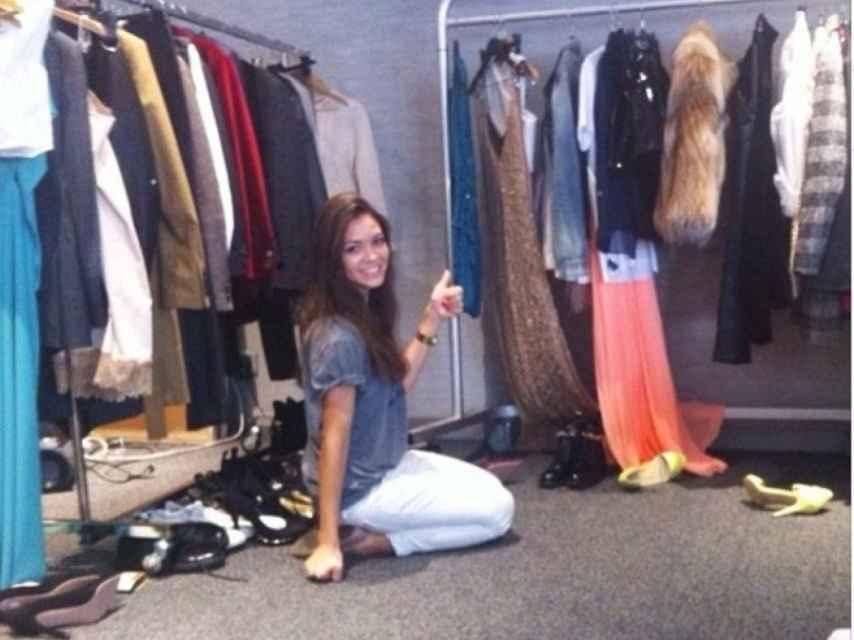 Eva Fernández, en un showroom.