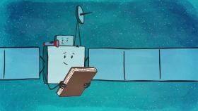 La ESA convirtió a Rosetta y Philae en personajes de dibujos animados.