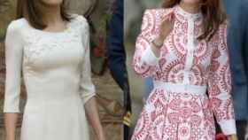 La reina Letizia y Kate Middleton en sus imágenes más recientes.