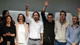 Integrantes de Podemos.