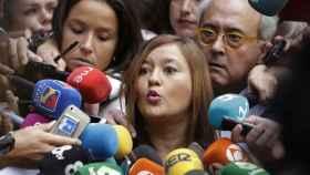 Verónica Pérez, presidenta del Comité Federal, este jueves en Ferraz.