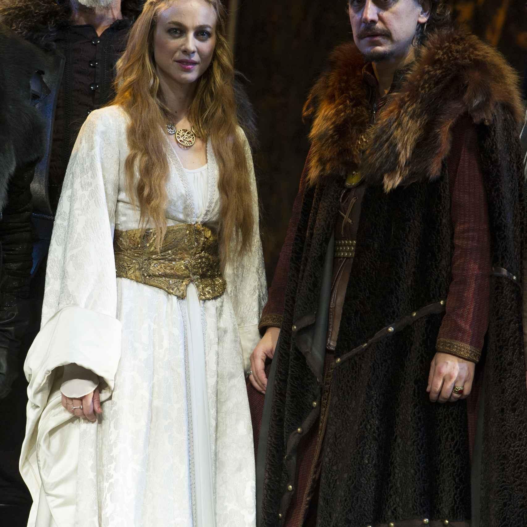Marta y Javier compartieron protagonismo en el escenario en la obra El caballero de Olmedo.