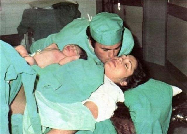 Francisco Rivera e Isabel Pantoja con el pequeño Kiko en brazos