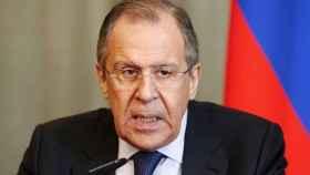 El ministro de Exteriores ruso, Serguéi Lavrov.