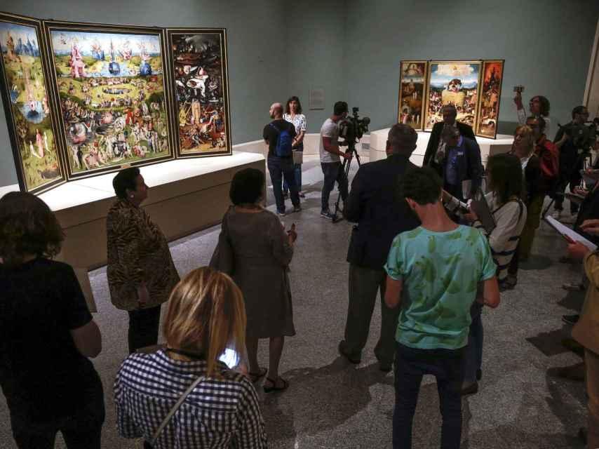 Las nuevas salas de El Bosco en el Museo del Prado.