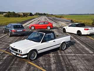 BMW hizo cuatro prototipos del M3 que pocos conocen