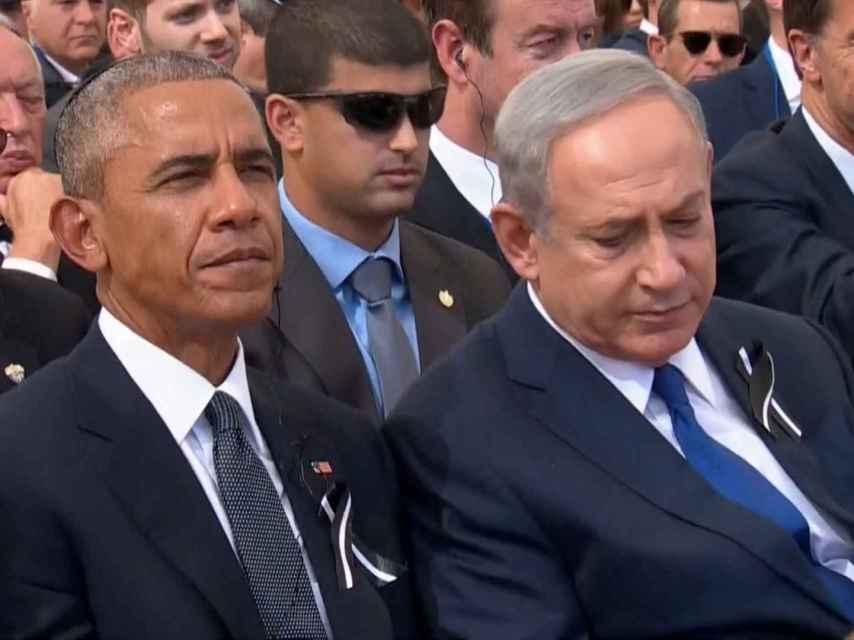 Obama ha sido crítico con la gestión del conflicto palestino-israelí de Netanyahu.