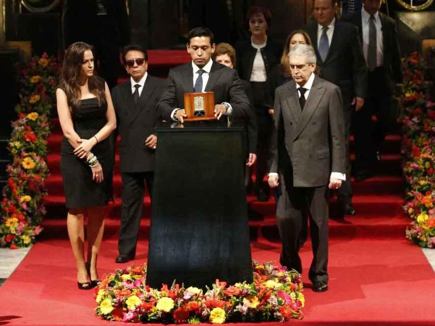 Iván Aguilera homenajea a su padre.