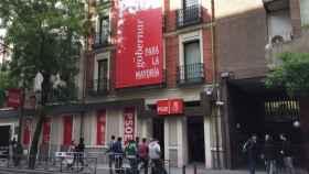 La sede del PSOE en la madrileña calle Ferraz.