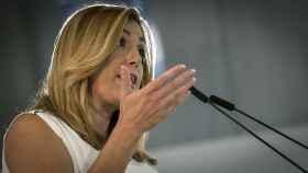 La secretaria general del PSOE-A y presidenta andaluza, Susana Díaz.