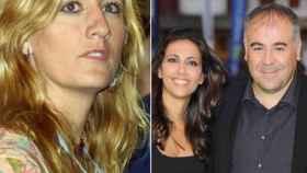 A la izquierda, Mercedes Pastor; a la derecha, la pareja formada por Ana Pastor y Antonio García Ferreras.