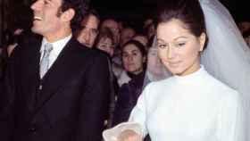 Julio Iglesias e Isabel Preysler se casaron el 29 de enero de 1971