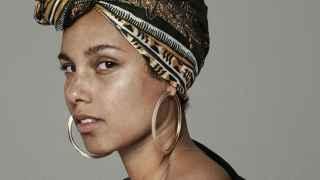 """La cantante Alicia Keys, una de las impulsoras del movimiento """"sin maquillaje""""."""