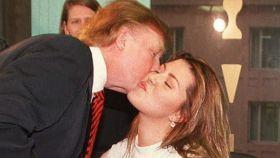 Trump y la ex Miss Universo Alicia Machado