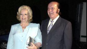 Chiquito de la Calzada y su mujer Pepita