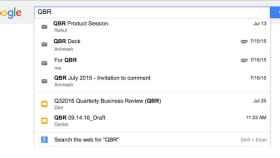 Google añade búsqueda unificada para los usuarios de G Suite