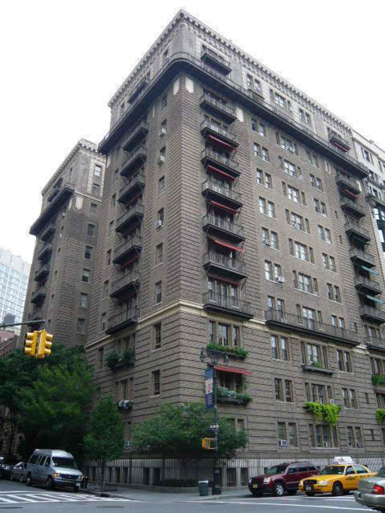 Edificio de Manhattan donde vive la cantante