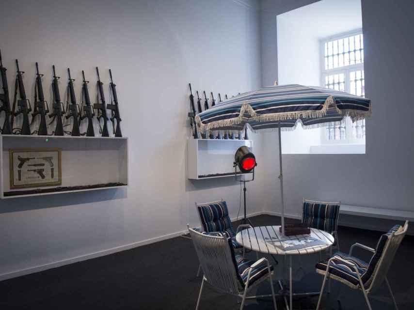 La instalación de Marcel Broodthaers, en el Museo Reina Sofía.