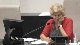 Carmena, en el pleno del Ayuntamiento el pasado 28 de septiembre