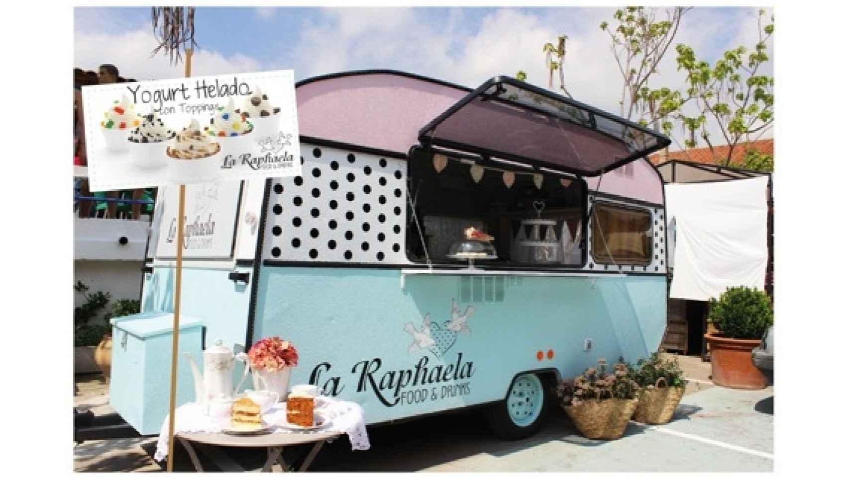 Yogures helados, tartas, cuapcakes... En La Raphaella.