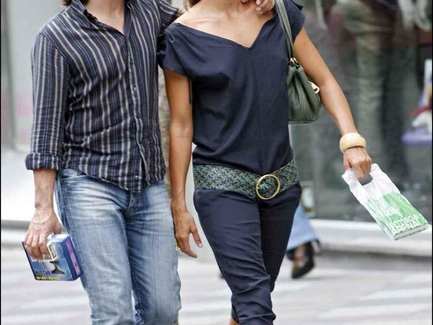 Enrique Arce y Gemma Mengual, cuando eran pareja.