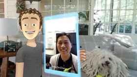 Selfi del avatar de Mark Zuckerberg