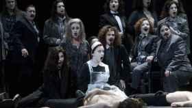 Pase gráfico de Macbeth en el Gran Teatro del Liceo.