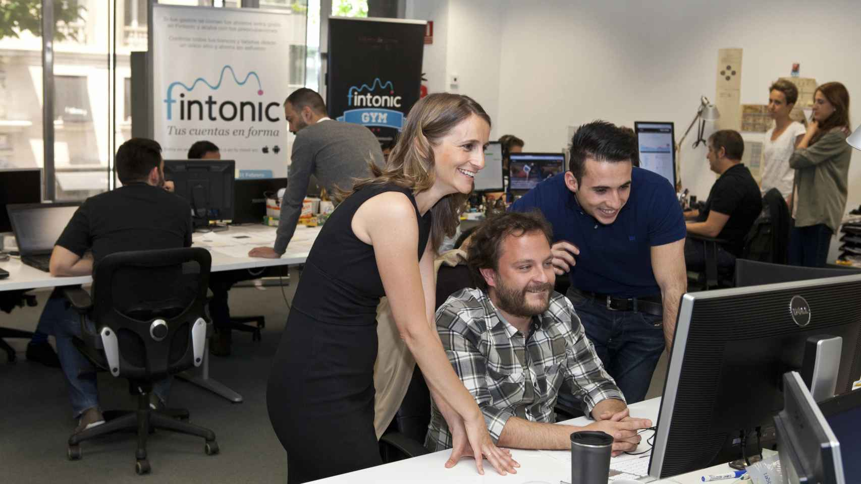 El equipo fundador de Fintonic.