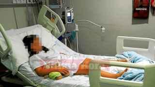 Una niña de ocho años, hospitalizada tras la paliza de doce alumnos en su colegio.