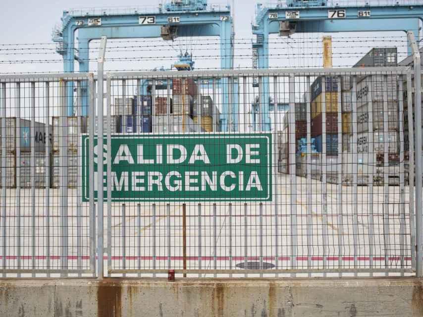 Sé que voy a trabajar, apunta una de las estibadoras de Algeciras
