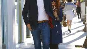 Paulina Rubio y Gerardo Bazúa, en una de las imágenes más recientes que se tienen de la pareja.