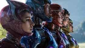 Fotograma de la nueva película de los Power Rangers.