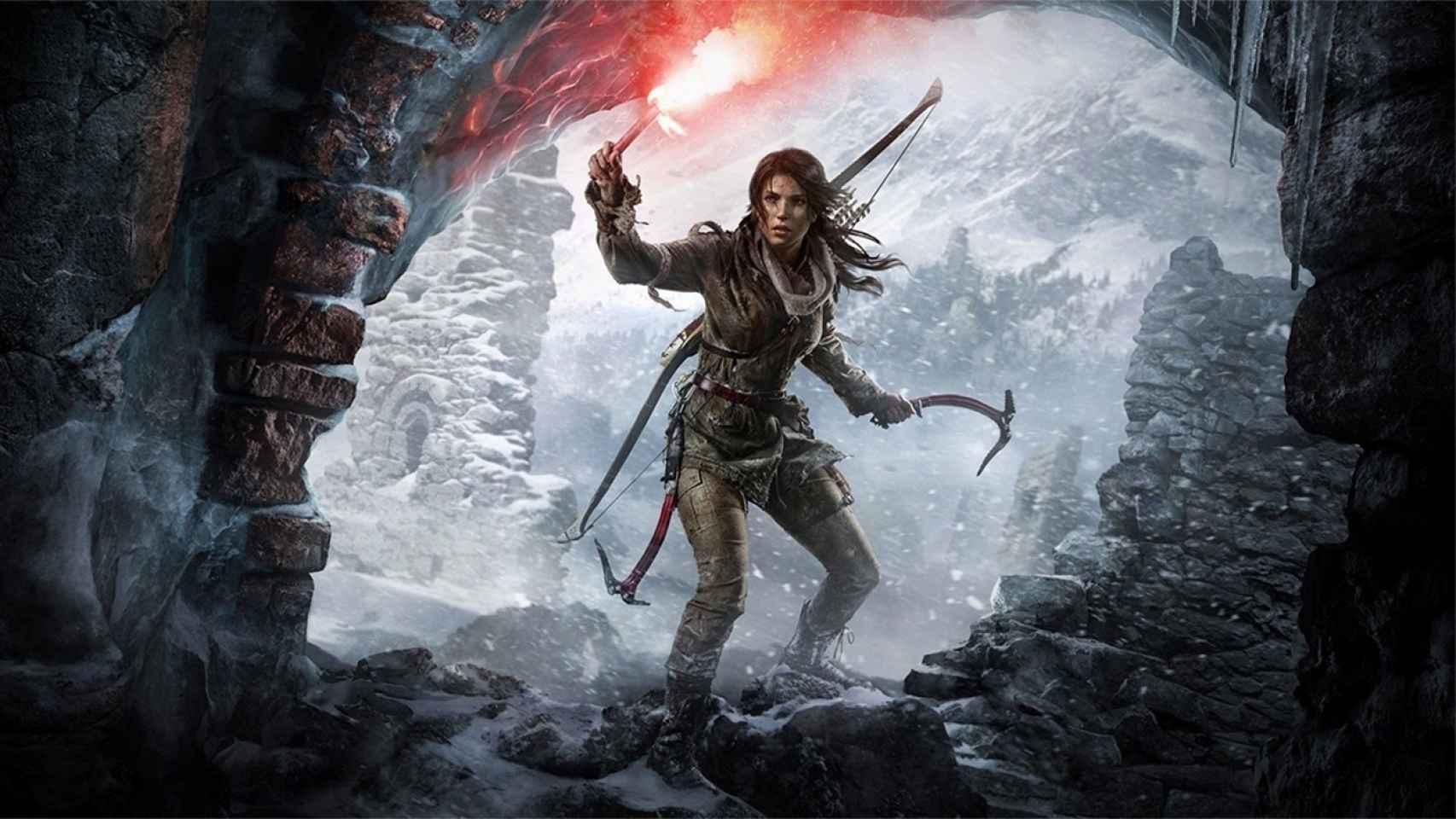 Imagen de Tomb Raider.