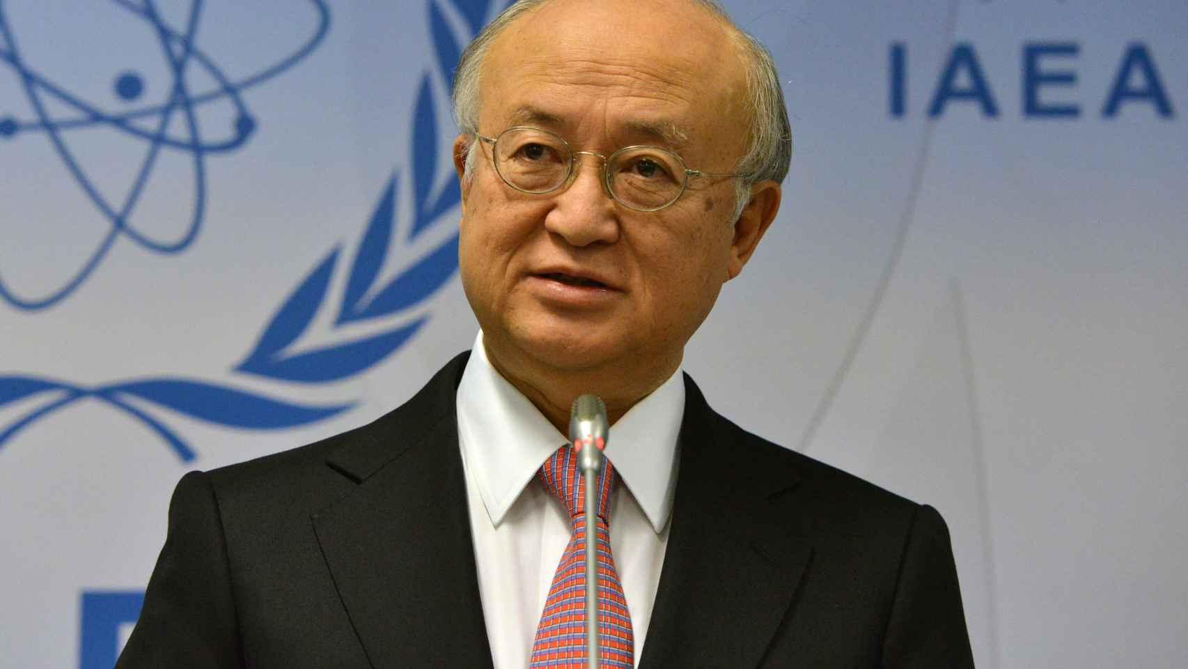 Yukiya Amano, director general del OIEA.