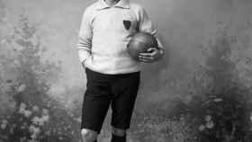 Un jugador de fútbol inglés.