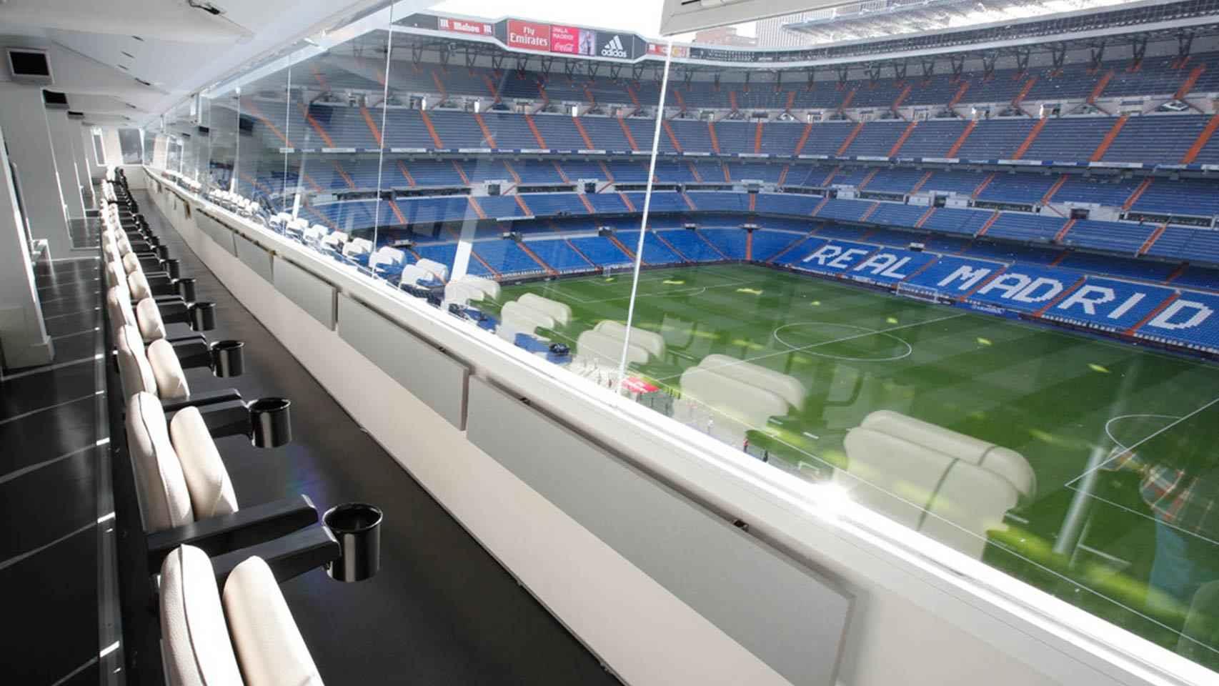 Palco del Santiago Bernabéu