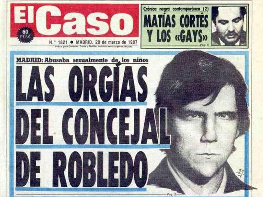 Una portada del periódico 'El Caso' de 1987.