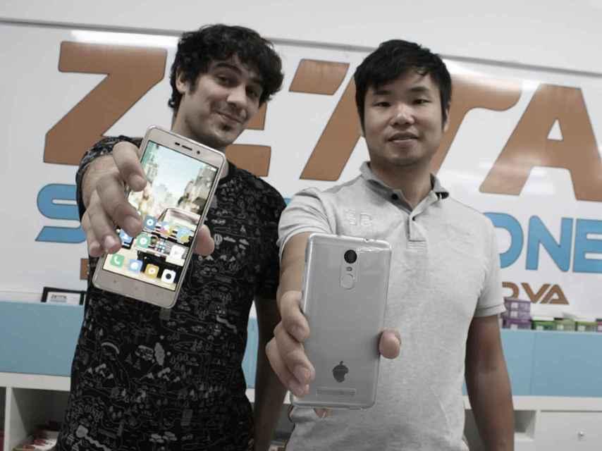 Unai y Eric, los creadores de Zetta moviles.