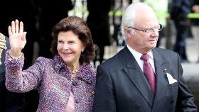 Carlos Gustavo de Suecia, hace unos días durante su visita a Alemania.