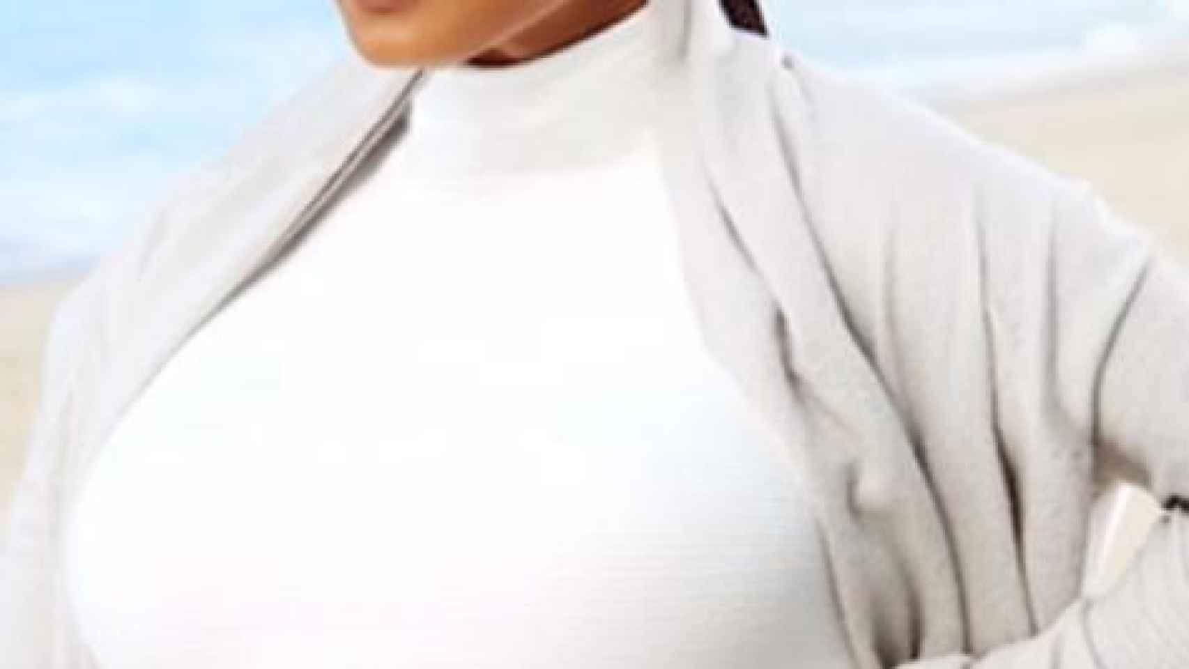 Janet Jackson embarazada a los 50 años