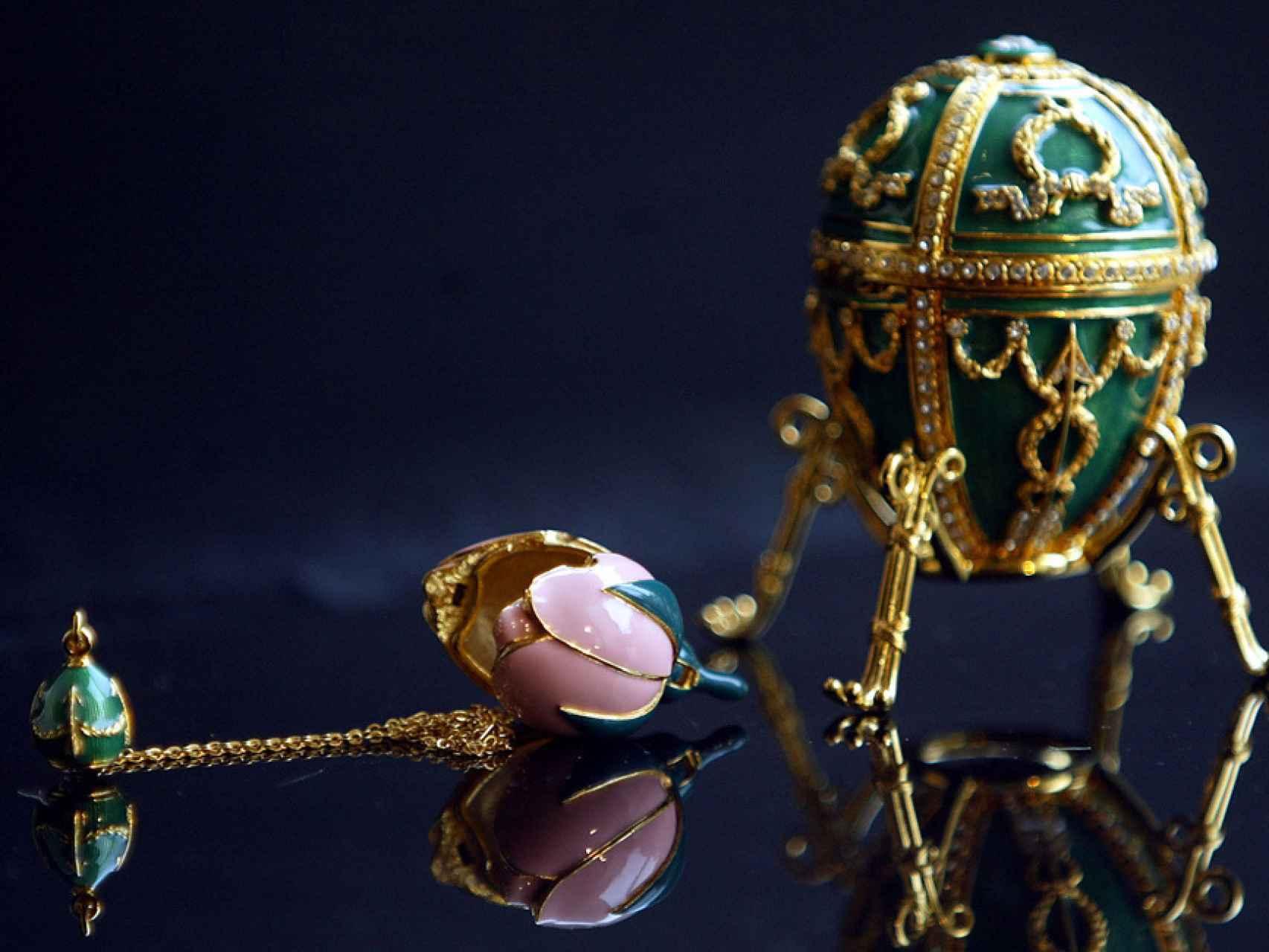 Uno de los famosos huevos de Fabergé.