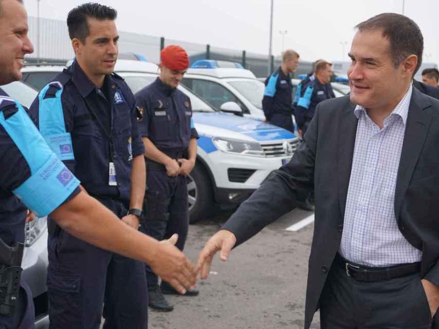 Leggeri dice que las mafias están enviando a los migrantes a la muerte en el Mediterráneo