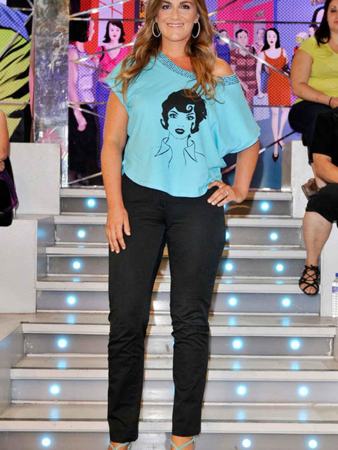 Carlota Corredera después de perder peso