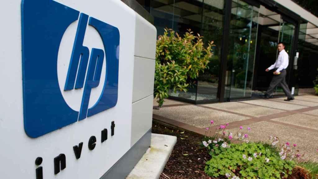 Sede de HP, en una imagen de archivo.