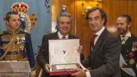 Un momento de la entrega del premio Conde de Campomanes a Villar Mir durante la pasada edición.