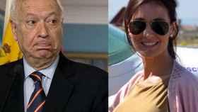 Margallo (izqda) y Marta García (dcha)