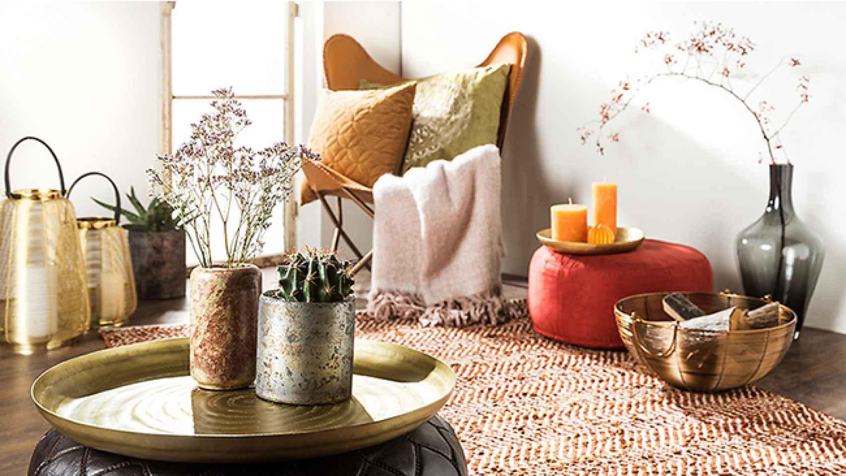 Los tonos cálidos crean espacios más acogedores. Foto: Westwind.