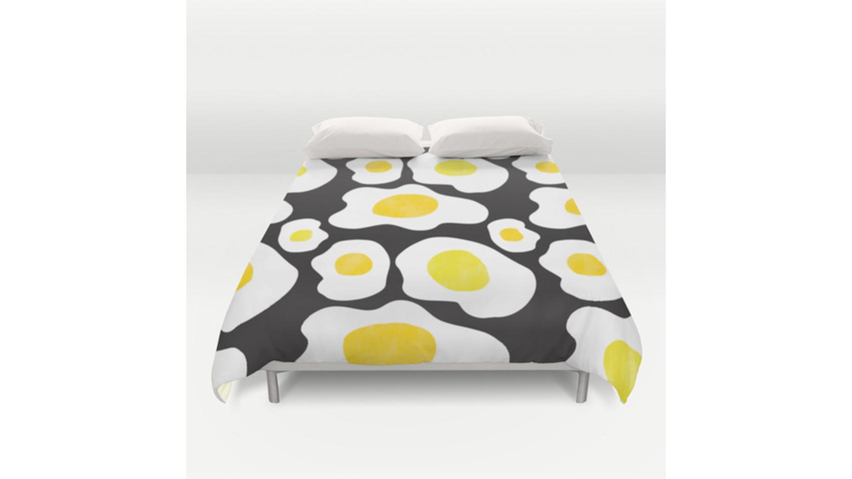 Colcha de cama.
