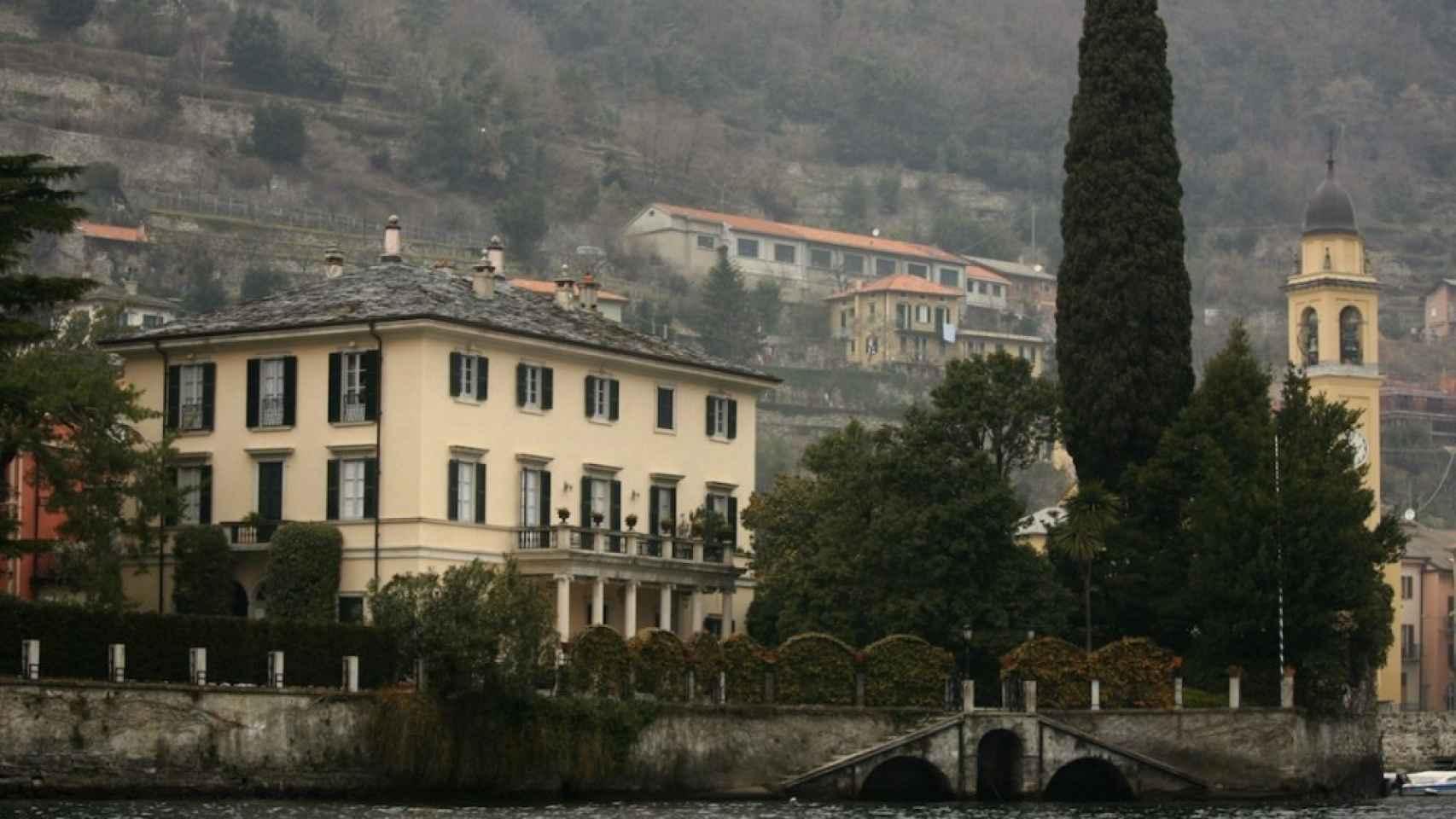 Villa Oleandra, en la localidad de Laglio.