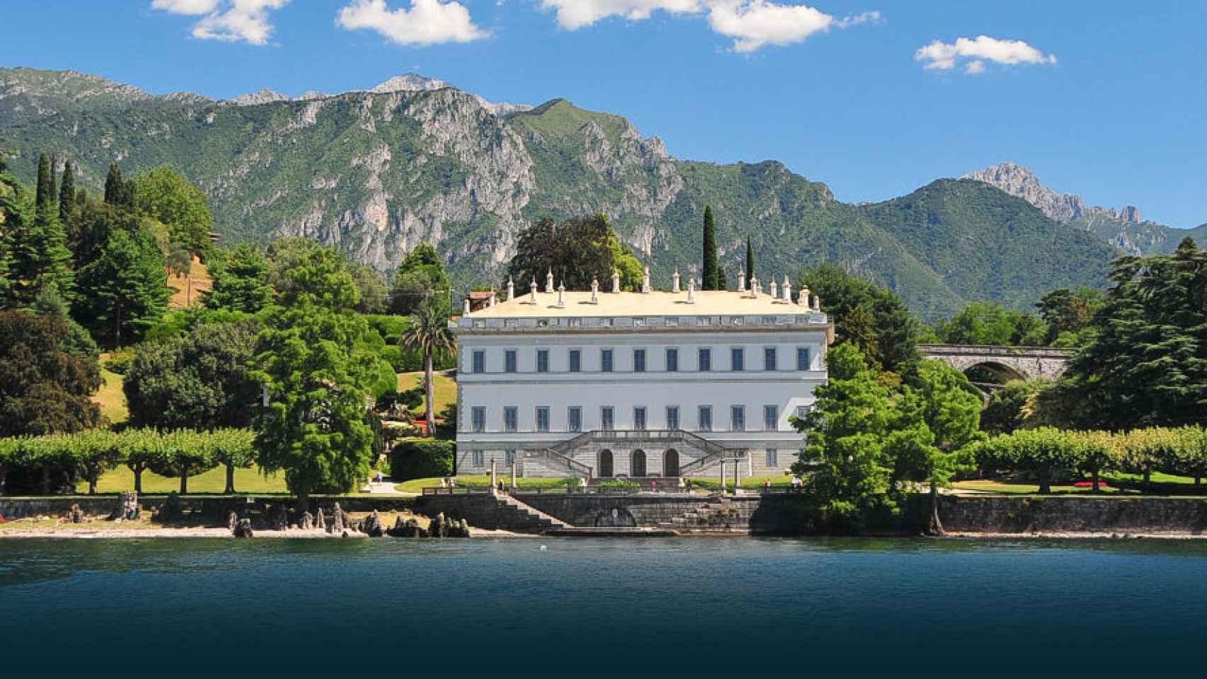 Villa Melzi posee unos jardines de ensueño.